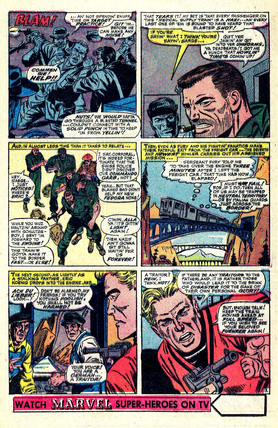 Read online Sgt. Fury comic -  Issue #36 - 17