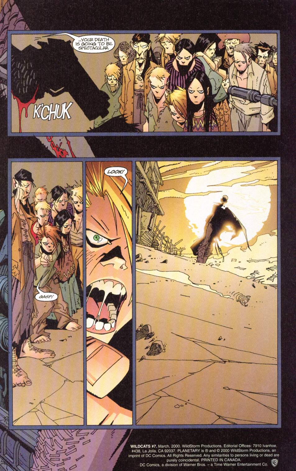 Wildcats (1999) Issue #7 #8 - English 4