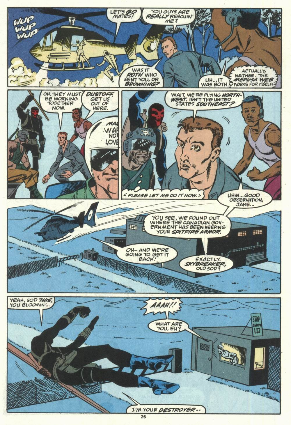 Read online Justice (1986) comic -  Issue #28 - 28