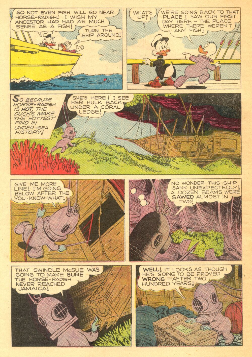 Read online Uncle Scrooge (1953) comic -  Issue #3 - 12