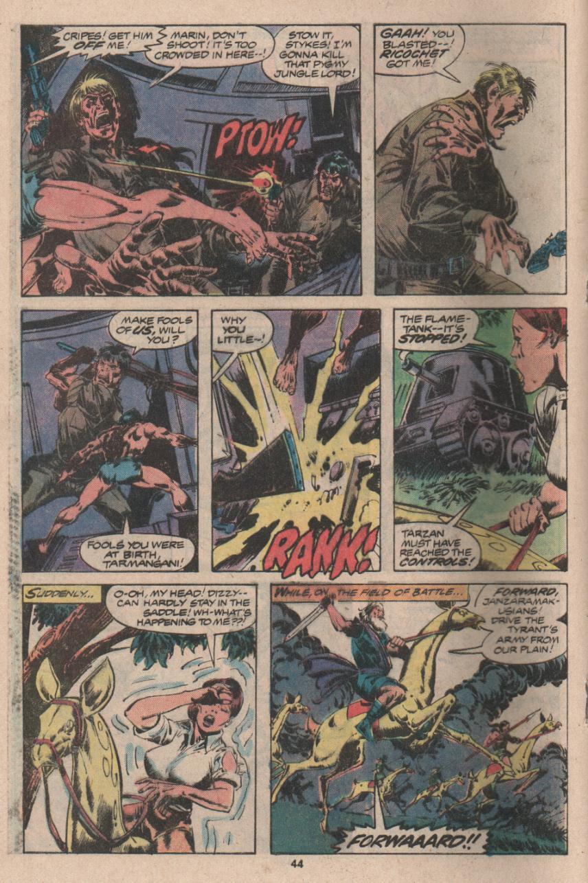 Read online Tarzan (1977) comic -  Issue # _Annual 3 - 33