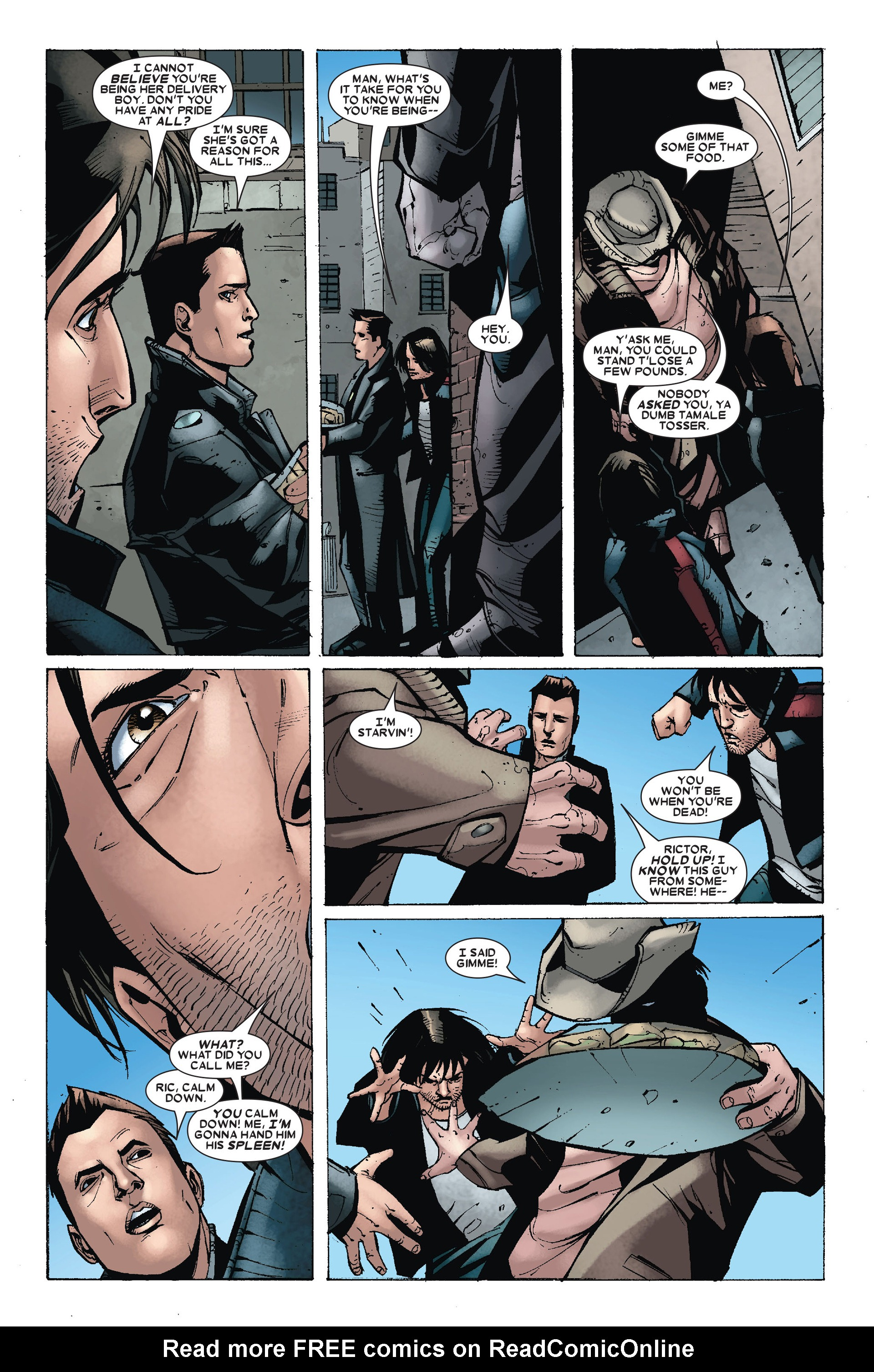 Read online X-Factor (2006) comic -  Issue #18 - 17