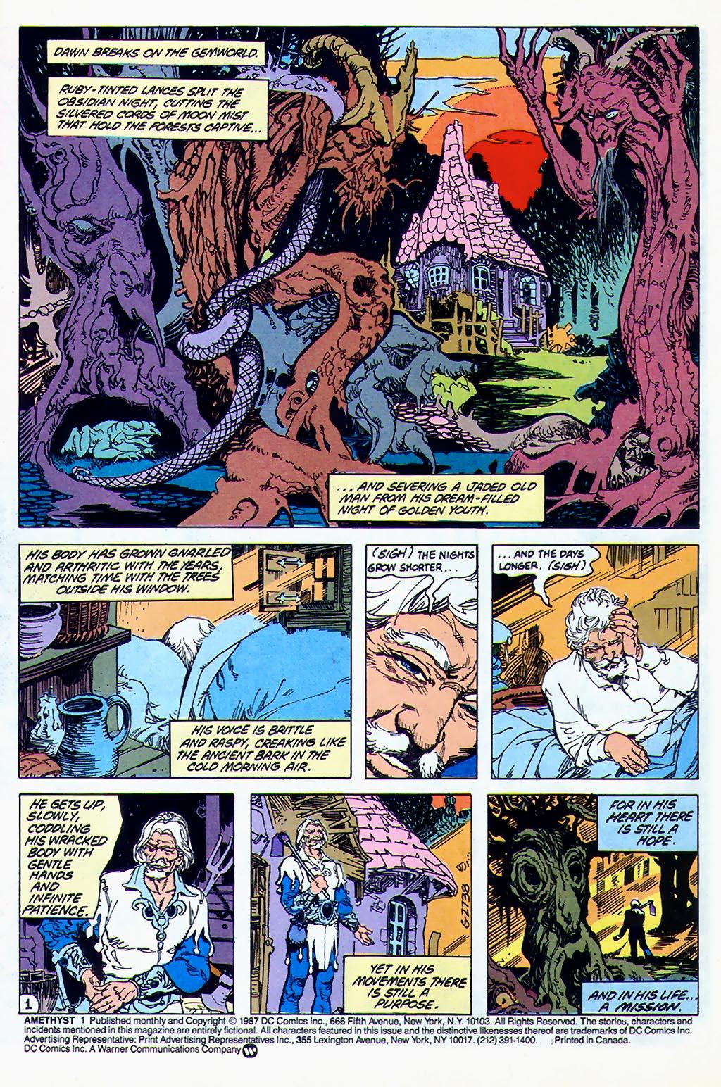 Read online Amethyst (1987) comic -  Issue #1 - 3