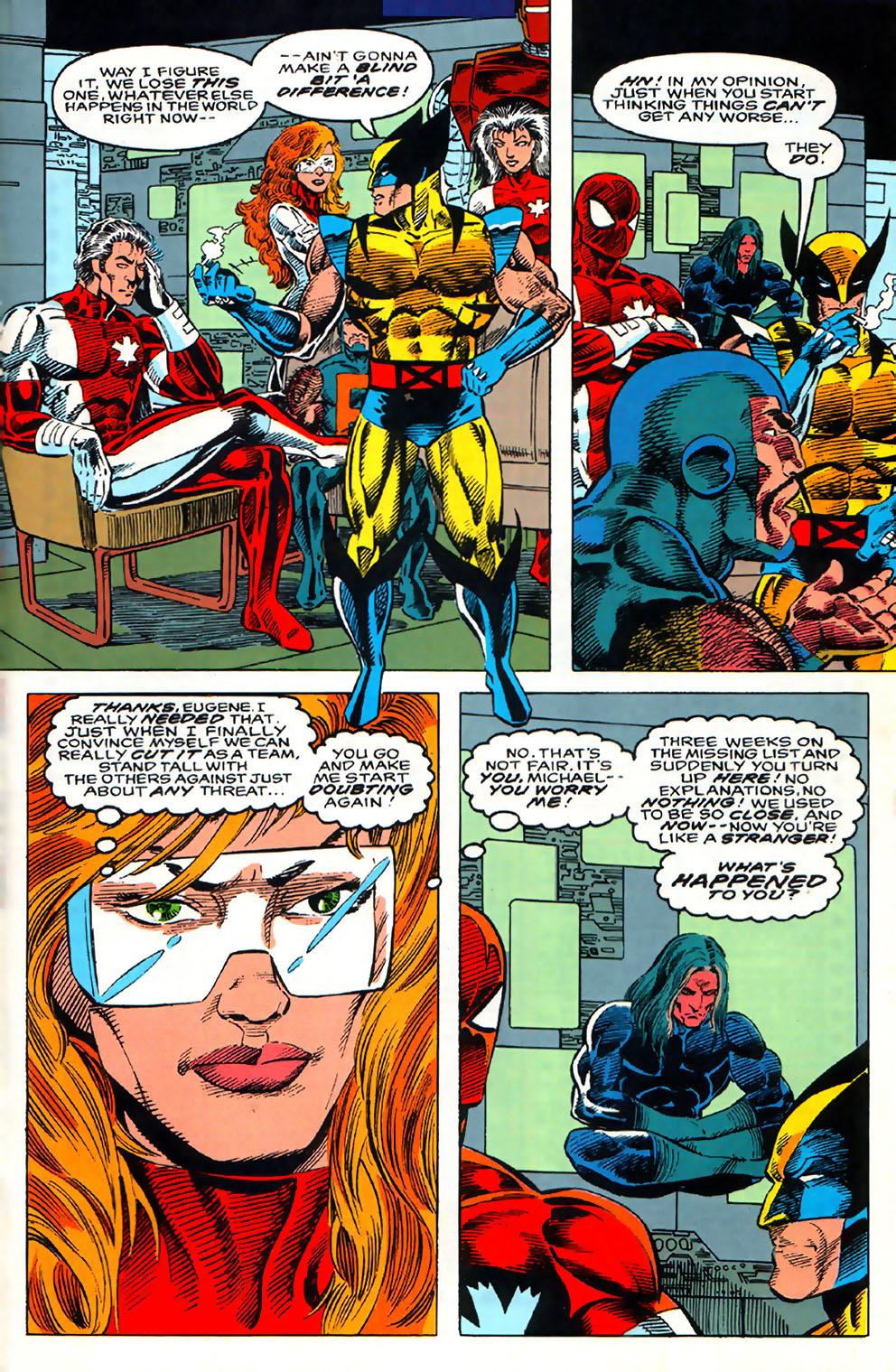 Read online Alpha Flight (1983) comic -  Issue #110 - 18