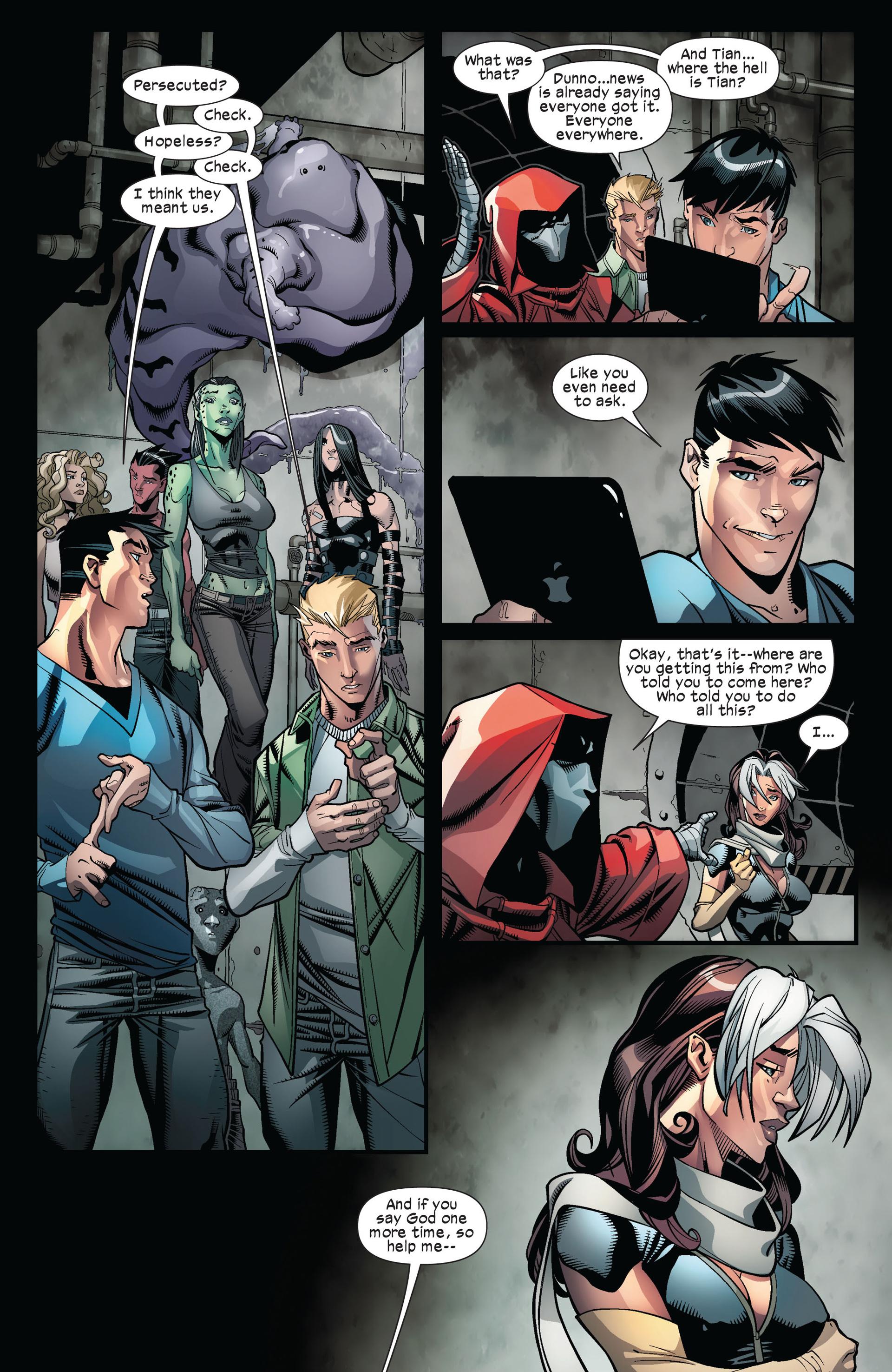 Read online Ultimate Comics X-Men comic -  Issue #6 - 18