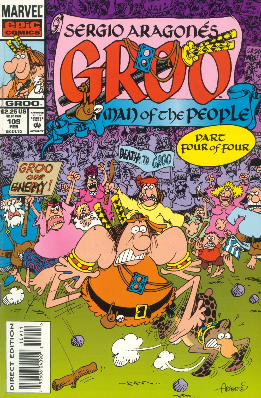 Read online Sergio Aragonés Groo the Wanderer comic -  Issue #109 - 1
