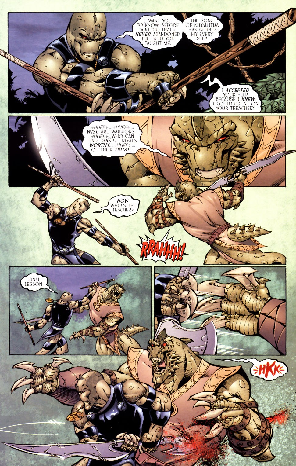 Read online Saurians: Unnatural Selection comic -  Issue #2 - 20