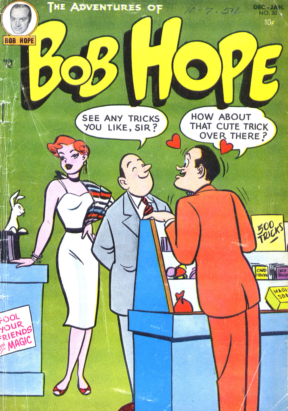 The Adventures of Bob Hope issue 30 - Page 1