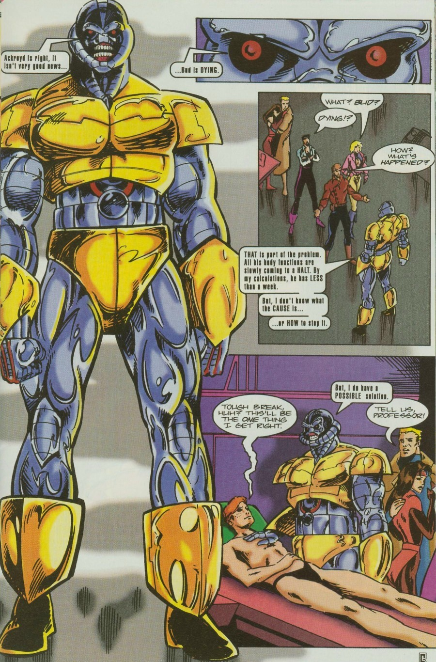 Read online Ex-Mutants comic -  Issue #11 - 7