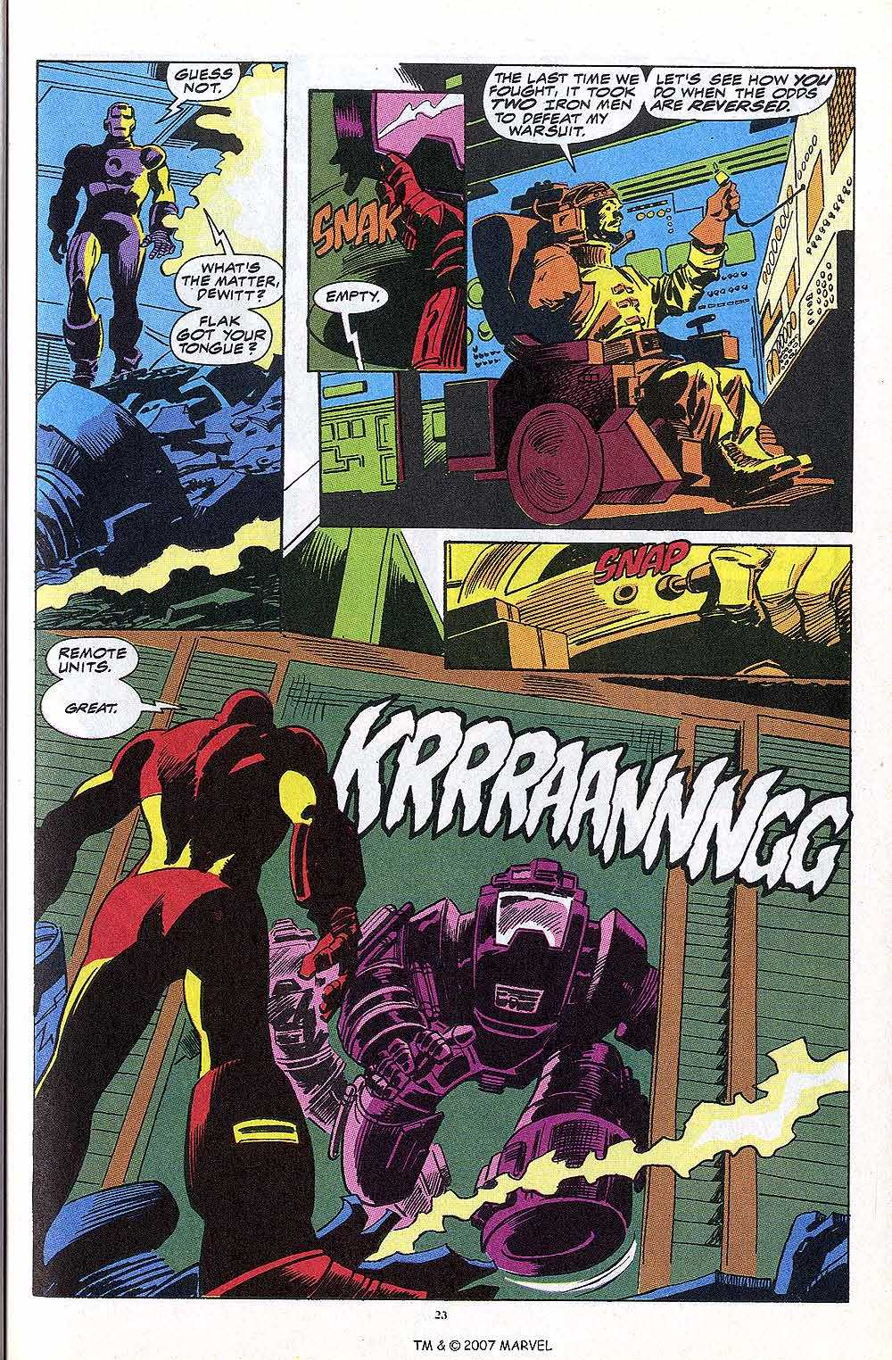 Iron Man Annual issue 13 - Page 25