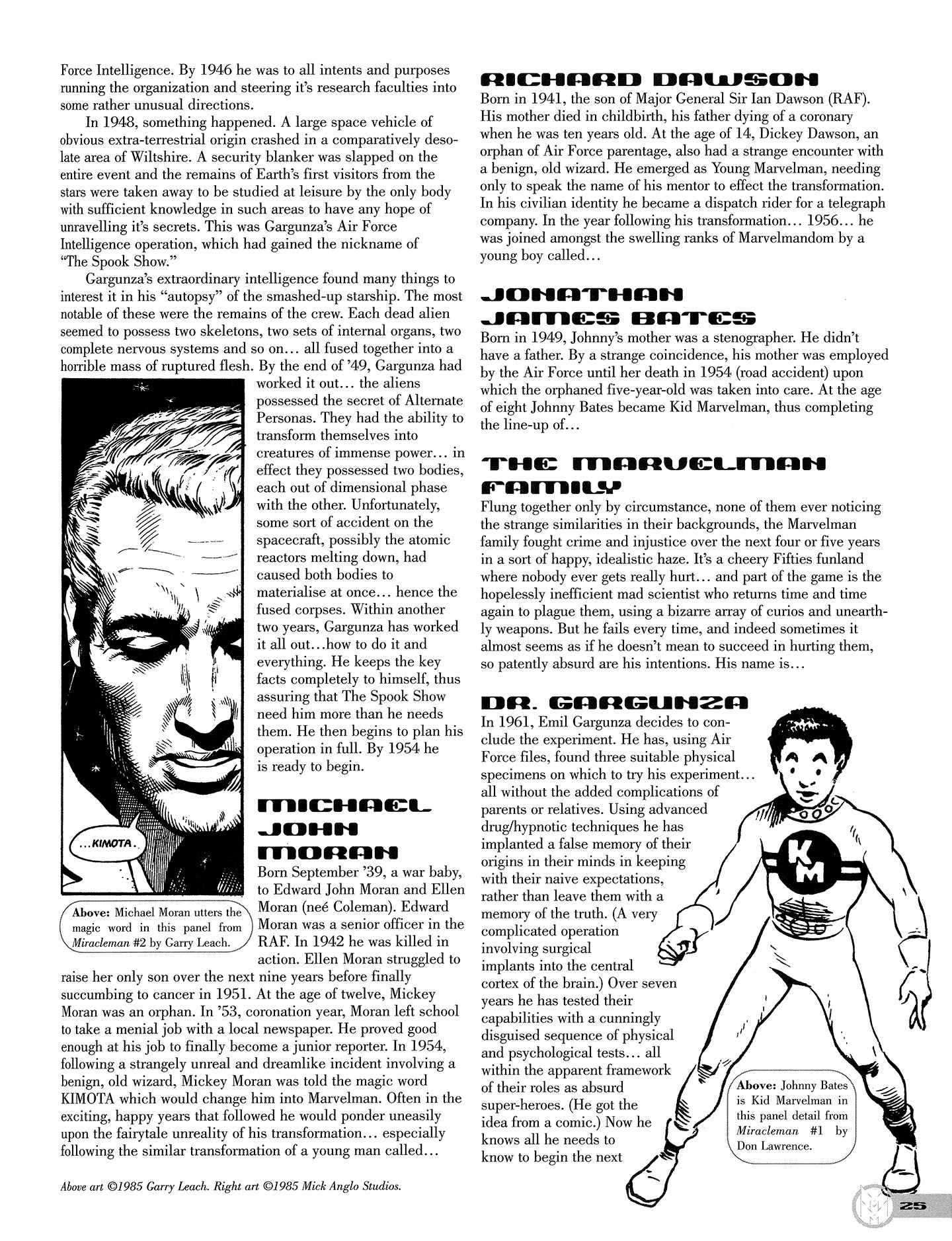 Read online Kimota!: The Miracleman Companion comic -  Issue # Full - 26
