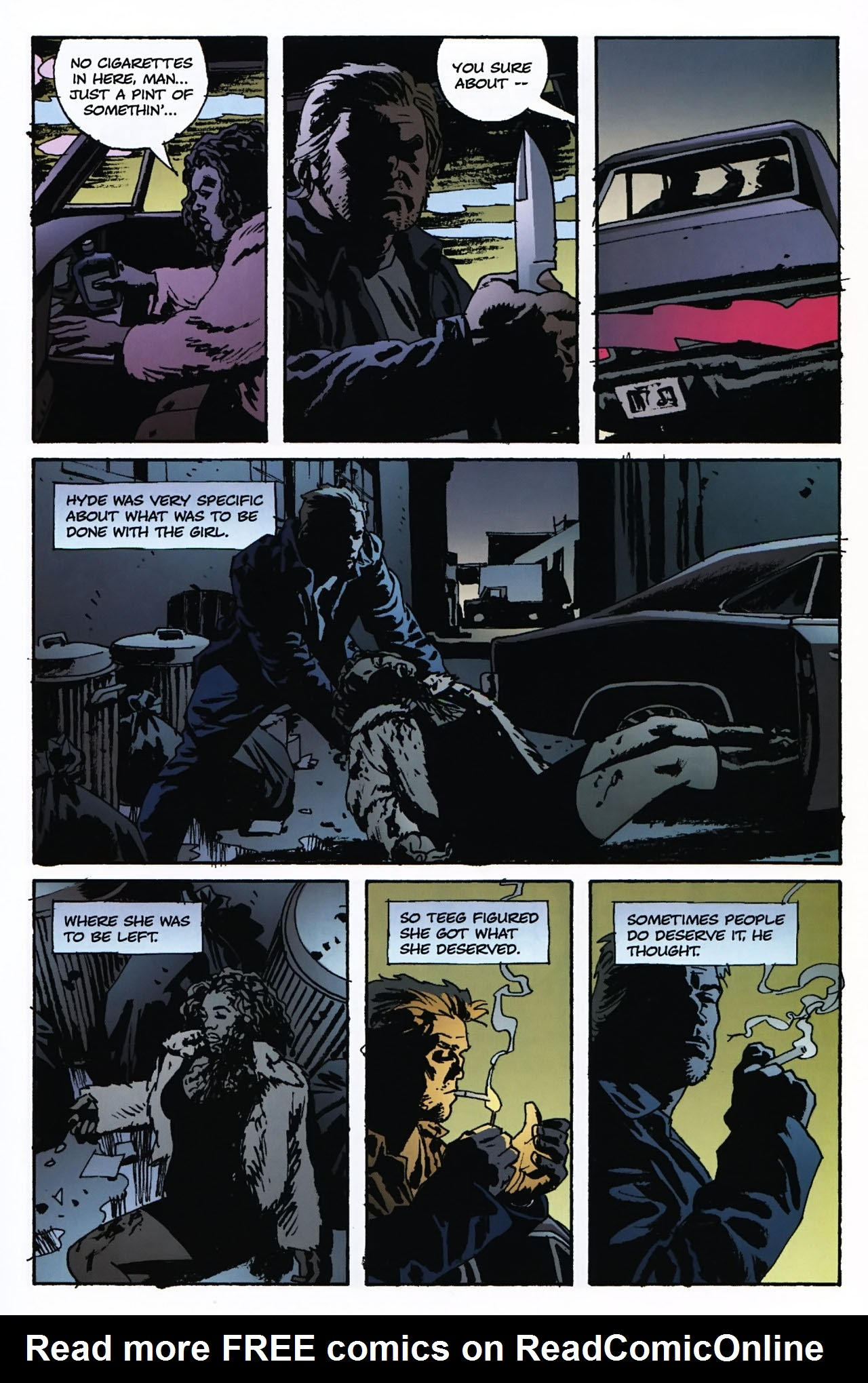 Read online Criminal (2008) comic -  Issue #2 - 28