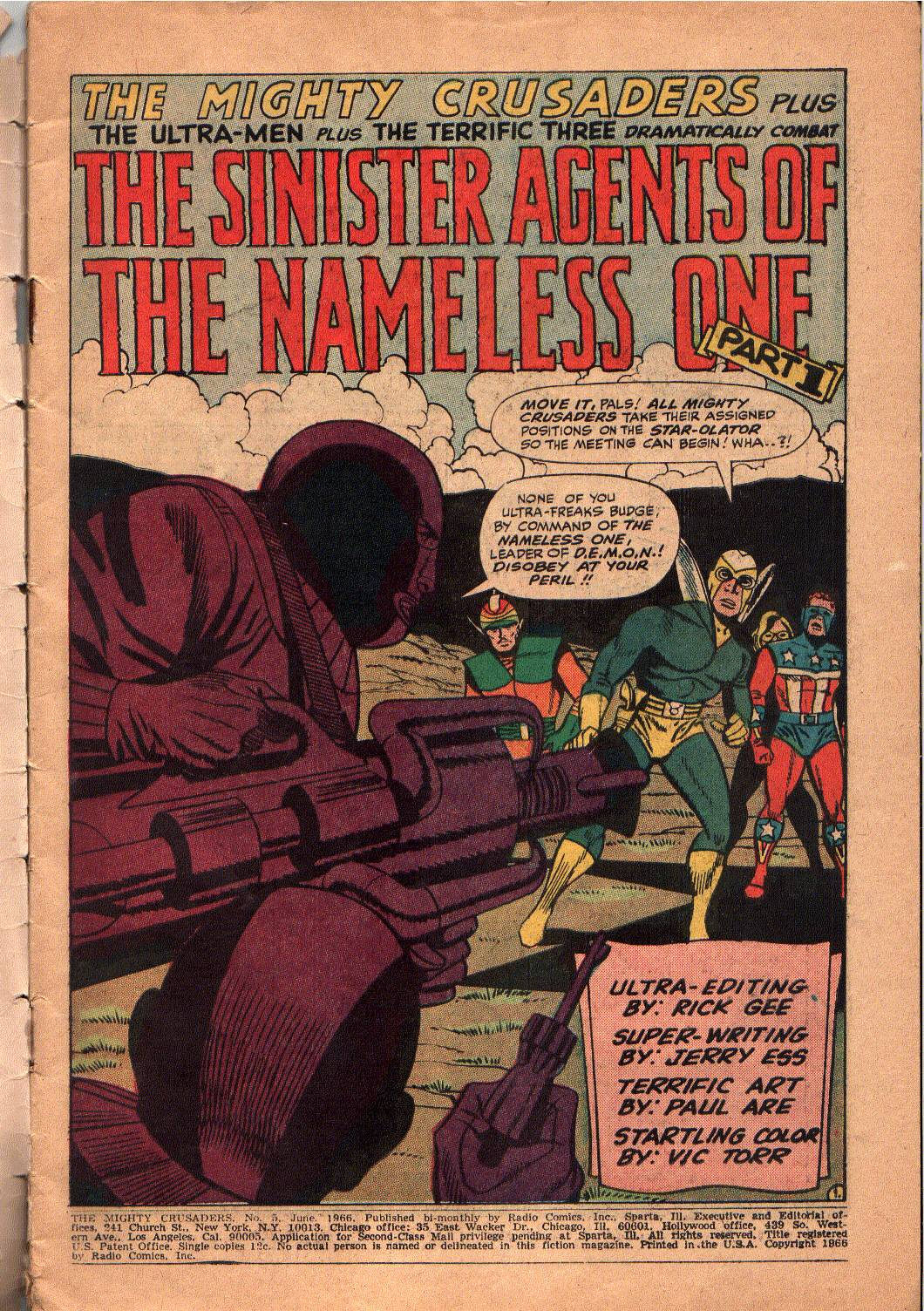 The Mighty Crusaders (1965) Issue #5 #5 - English 2