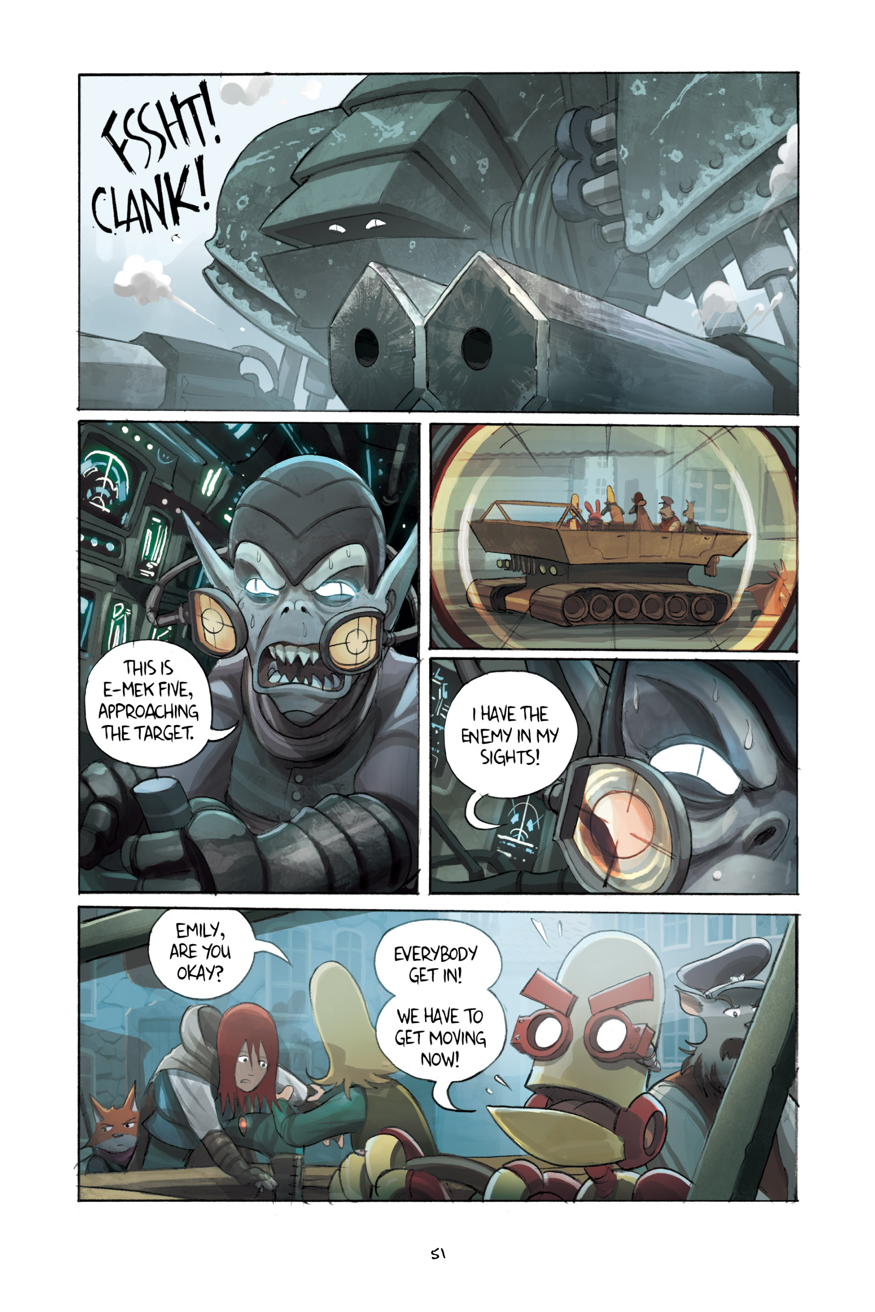 Read online Amulet comic -  Issue #3 - 50