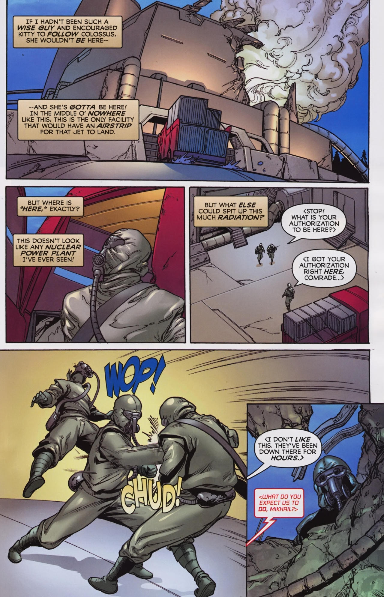 Read online Wolverine: First Class comic -  Issue #7 - 20