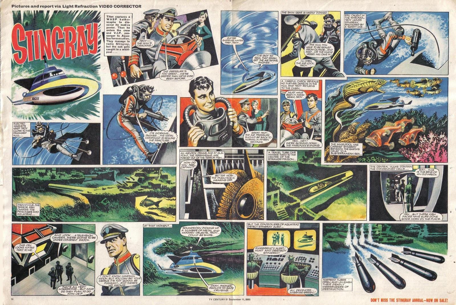 TV Century 21 (TV 21) issue 34 - Page 10