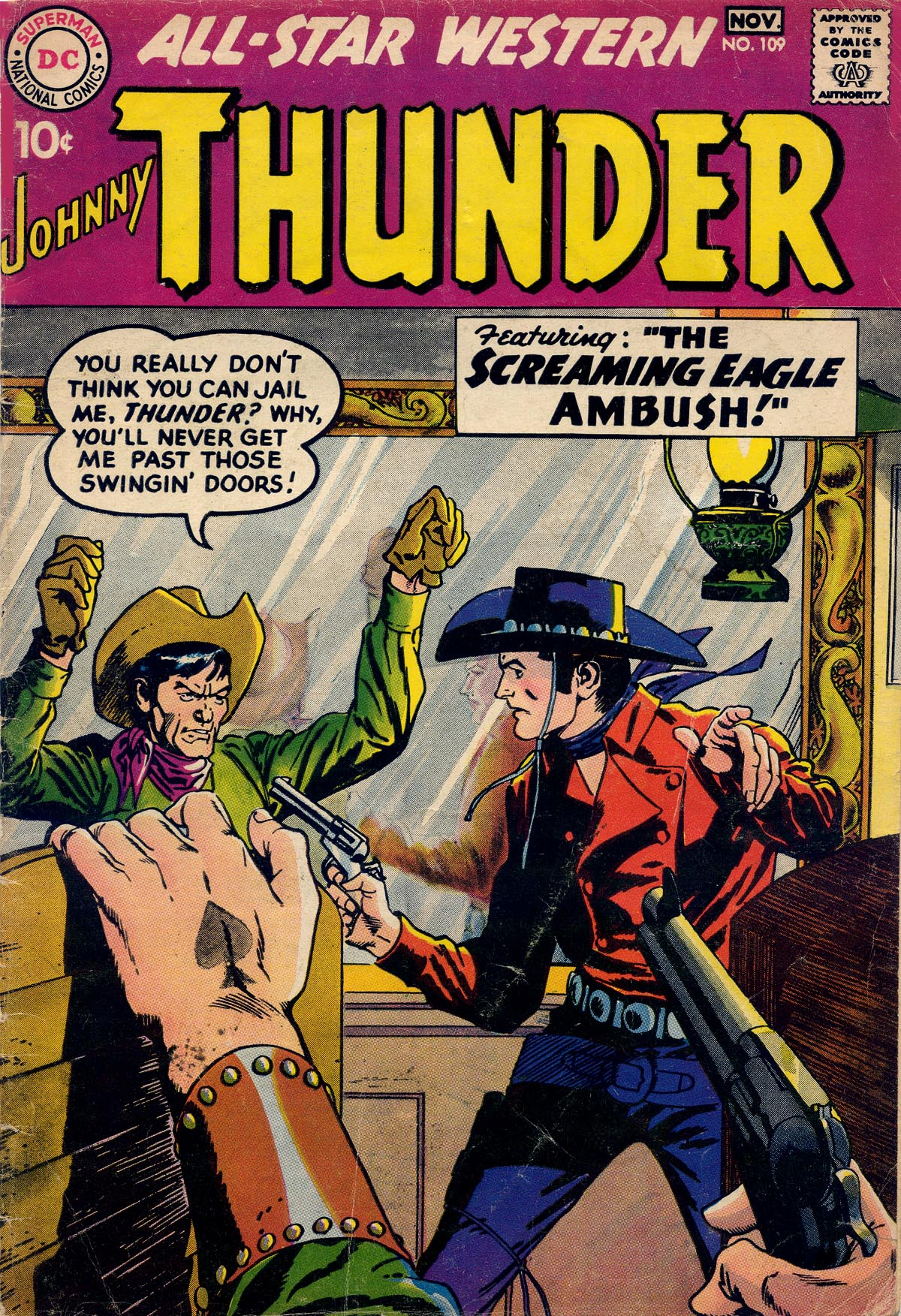 Read online All-Star Western (1951) comic -  Issue #109 - 1