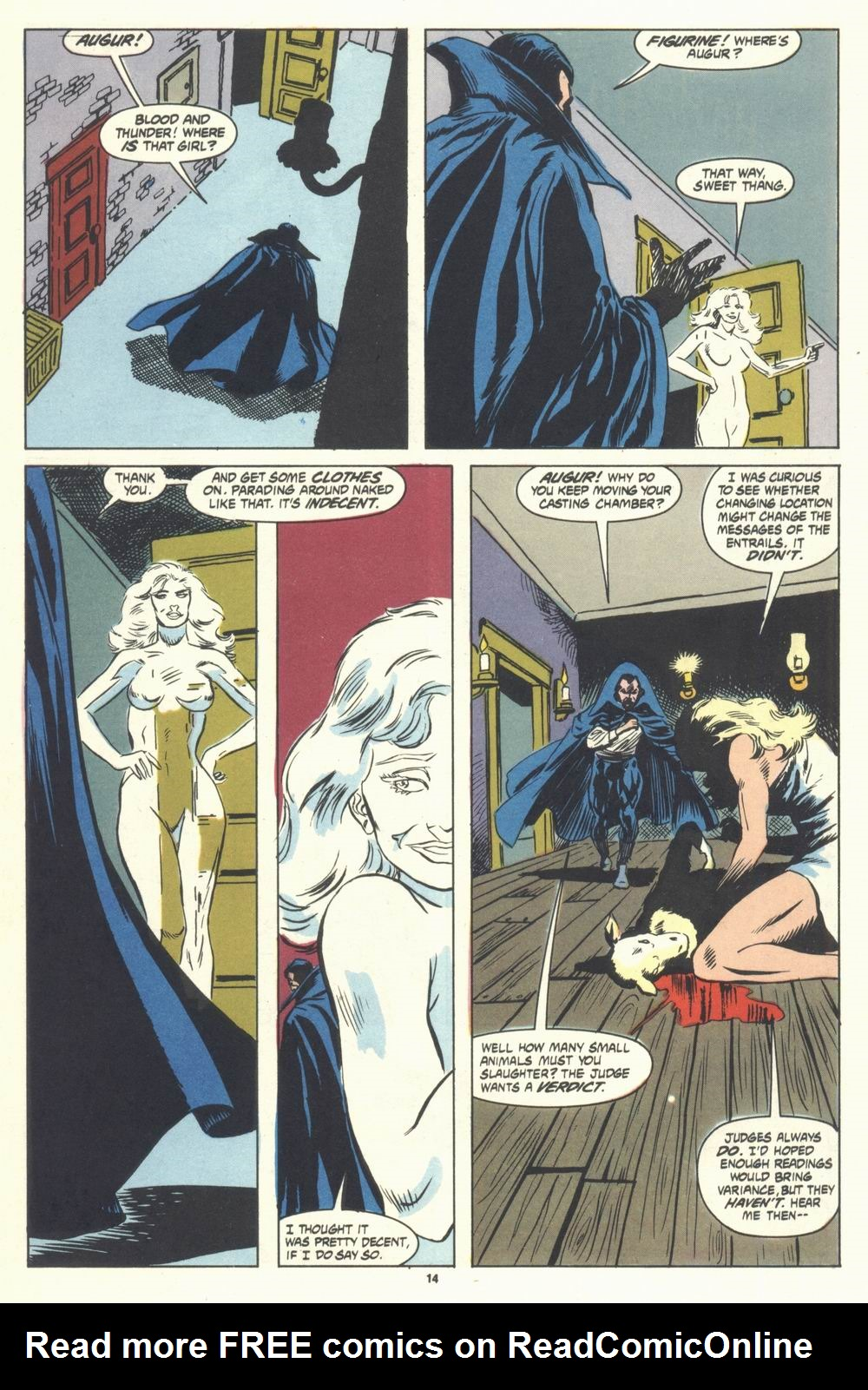 Read online Justice (1986) comic -  Issue #31 - 16
