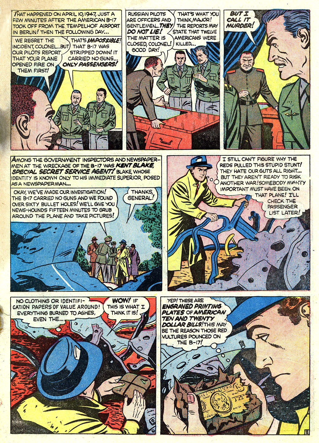 Kent Blake of the Secret Service issue 1 - Page 23