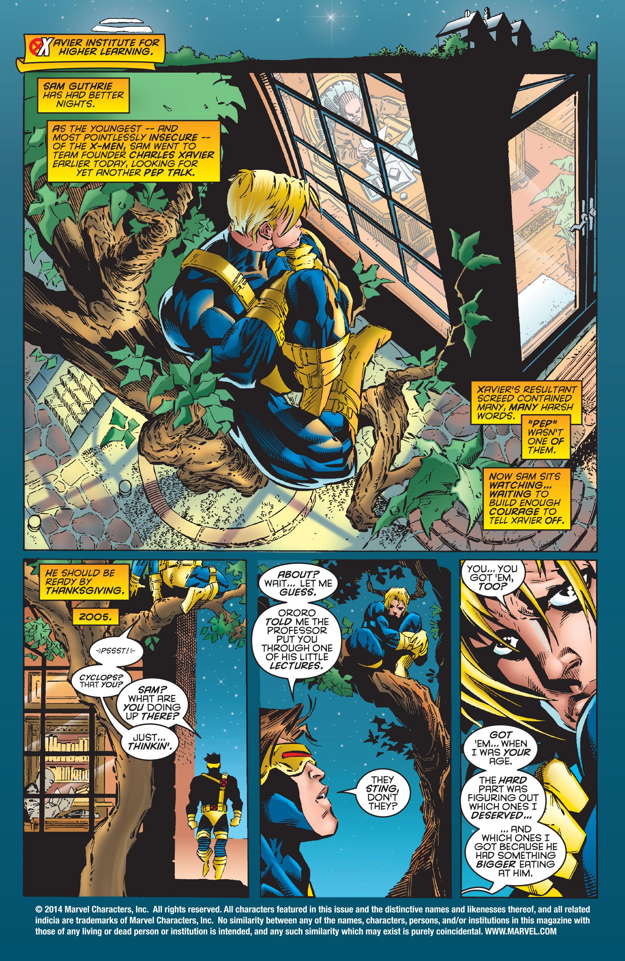 X-Men (1991) 54 Page 1