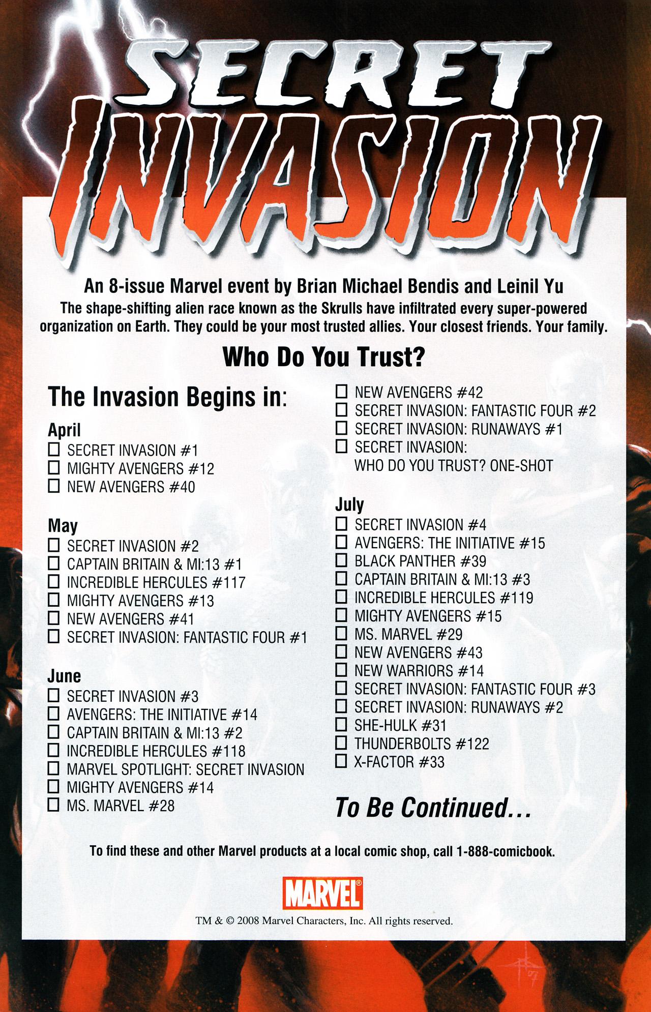 Read online Secret Invasion Saga comic -  Issue # Full - 25