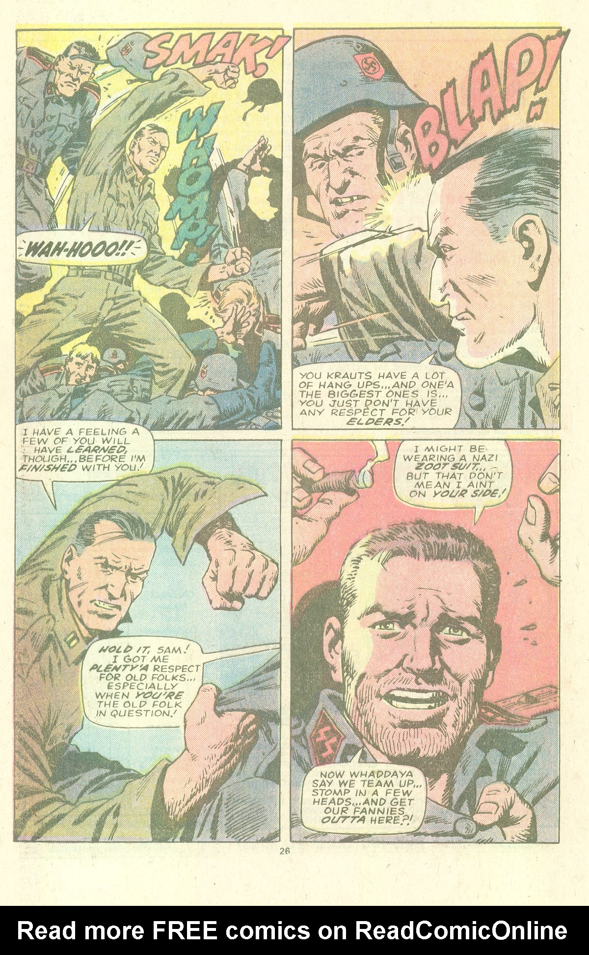 Read online Sgt. Fury comic -  Issue #157 - 28
