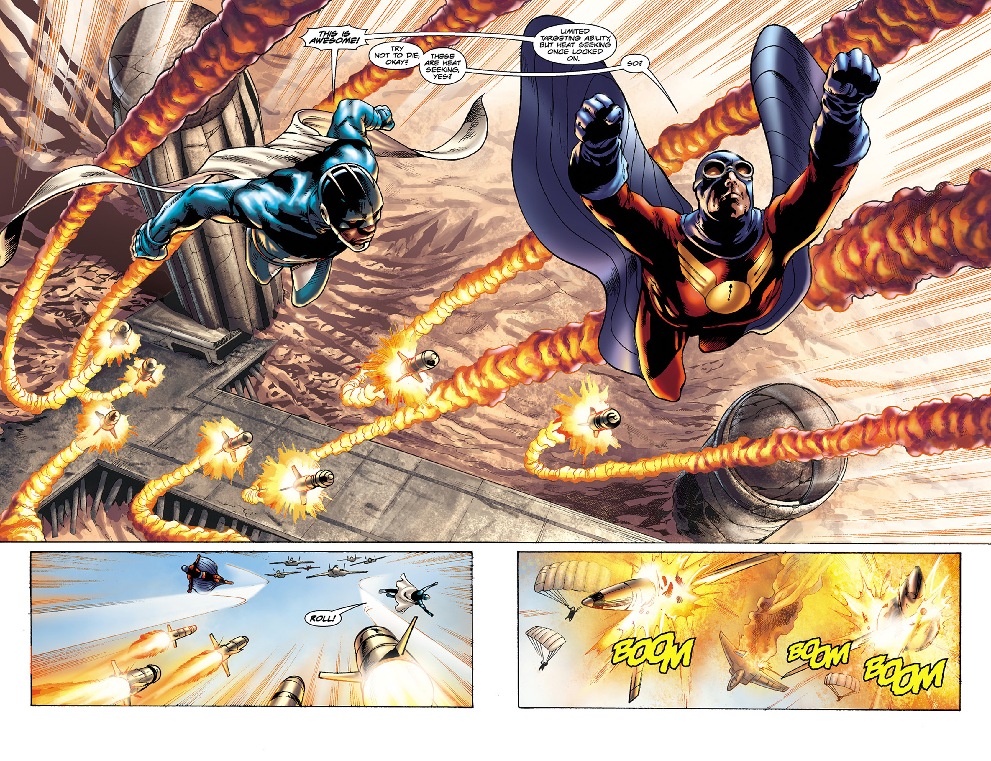 Read online Skyman comic -  Issue #3 - 14