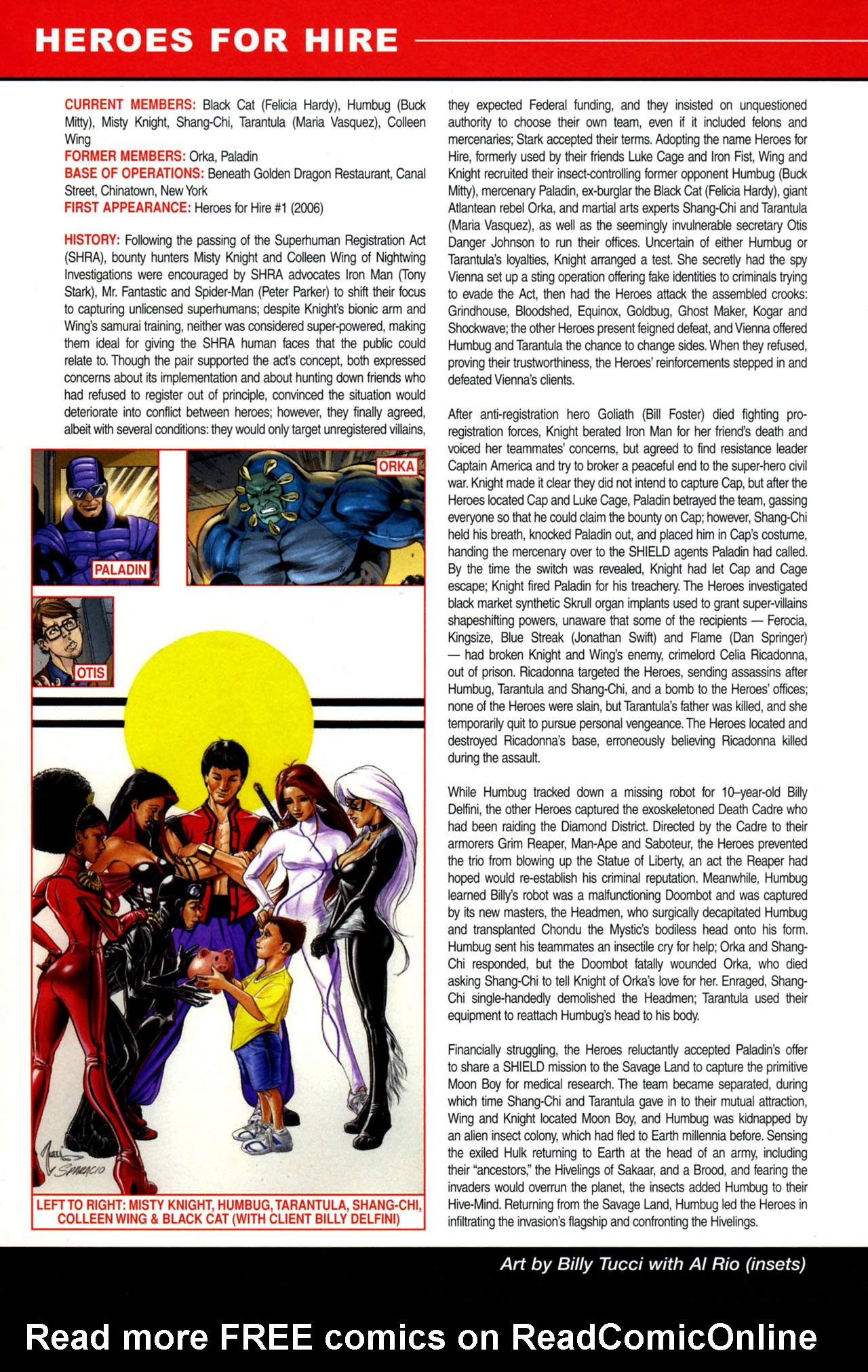 Read online All-New Official Handbook of the Marvel Universe A to Z: Update comic -  Issue #4 - 18