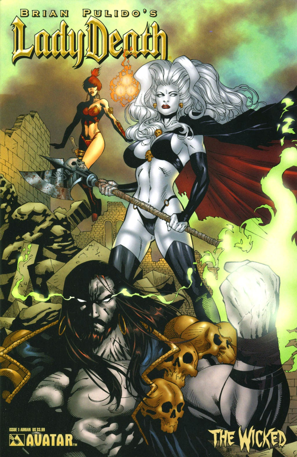 Read online Lady Death: The Wicked comic -  Issue #1 - 6