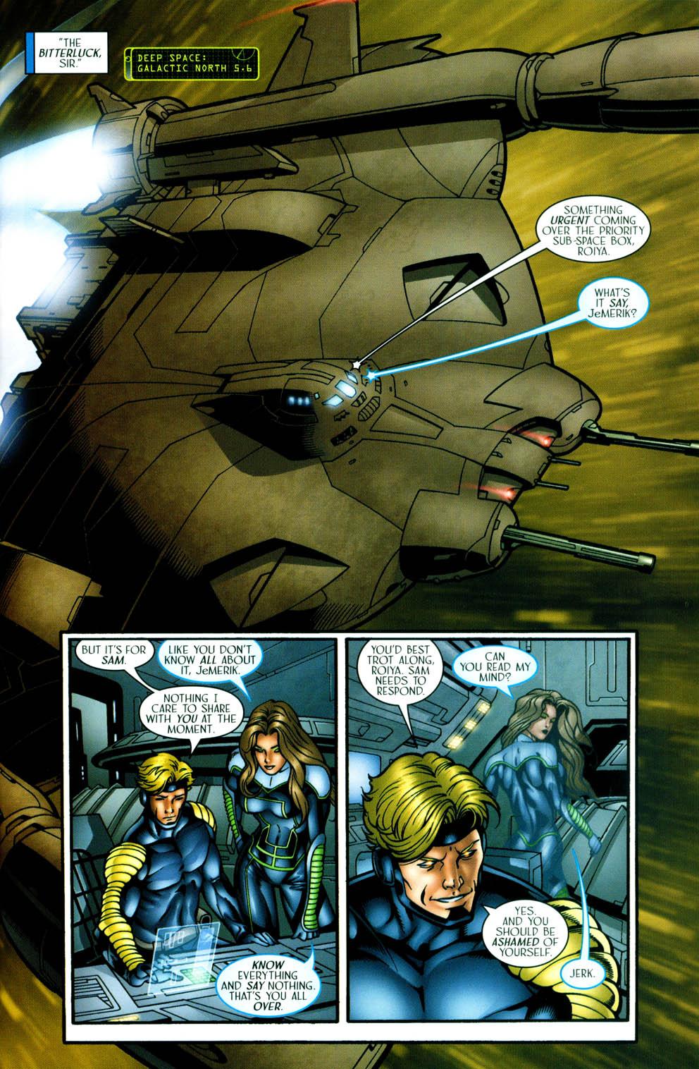 Read online Sigil (2000) comic -  Issue #36 - 10