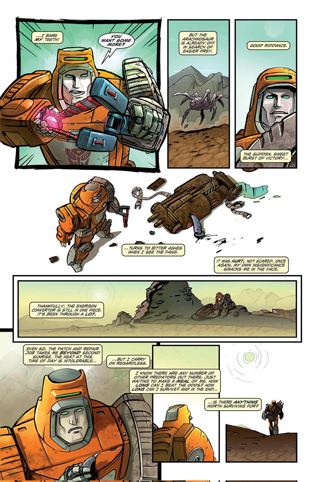 Read online Transformers Spotlight: Wheelie comic -  Issue # Full - 12