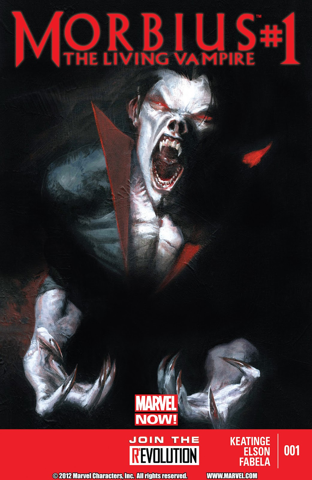 Morbius - The Living Vampire issue 1 - Page 1