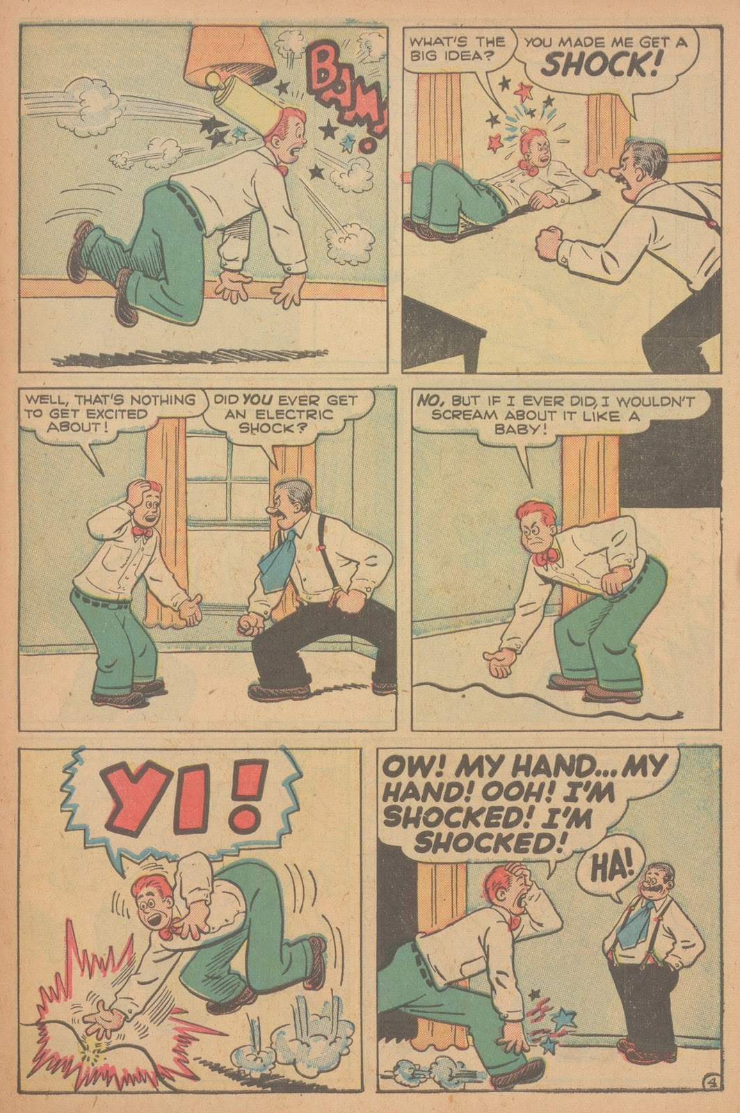 Read online Nellie The Nurse (1945) comic -  Issue #21 - 39