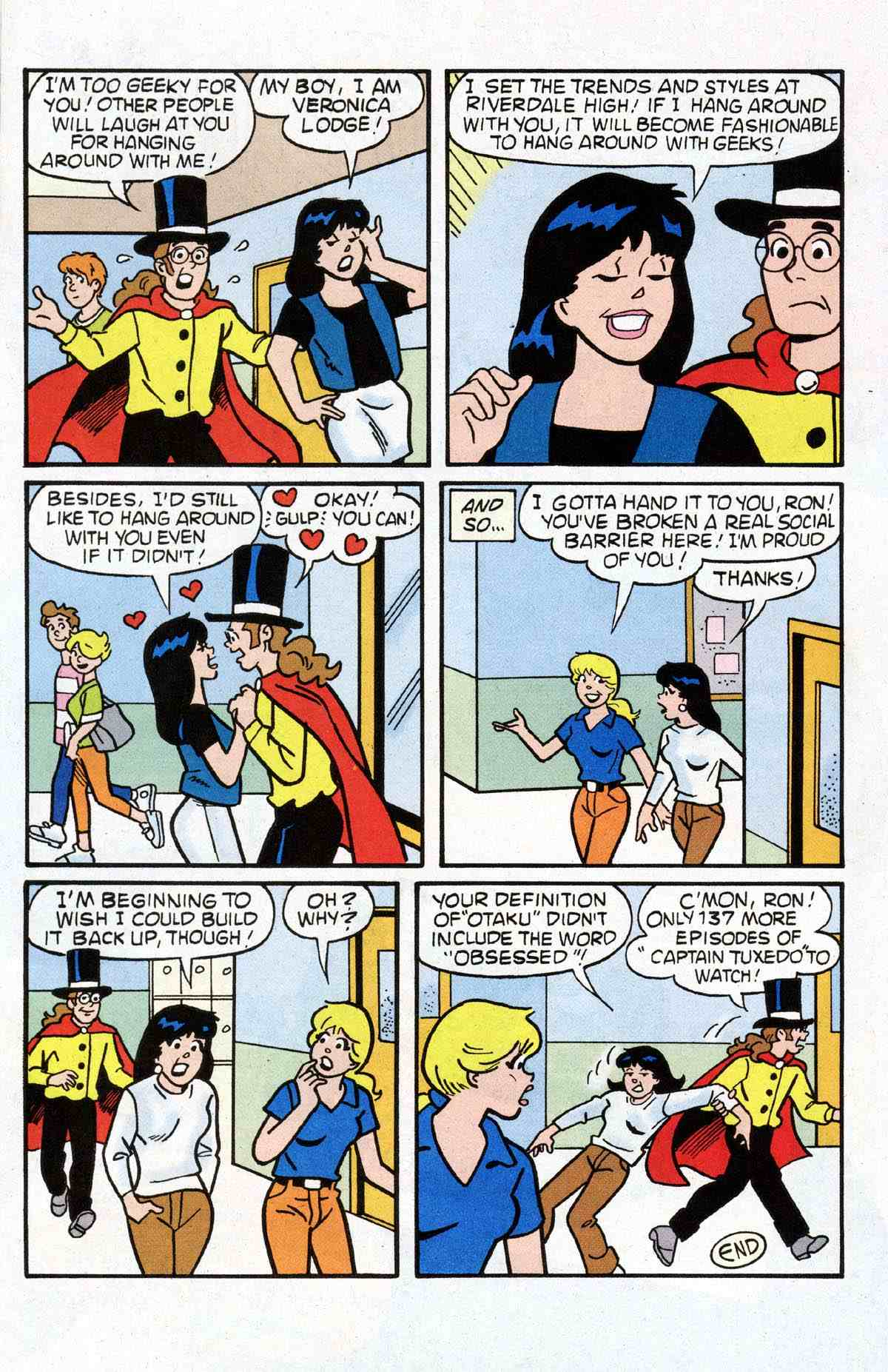 Read online Archie's Girls Betty and Veronica comic -  Issue #180 - 15