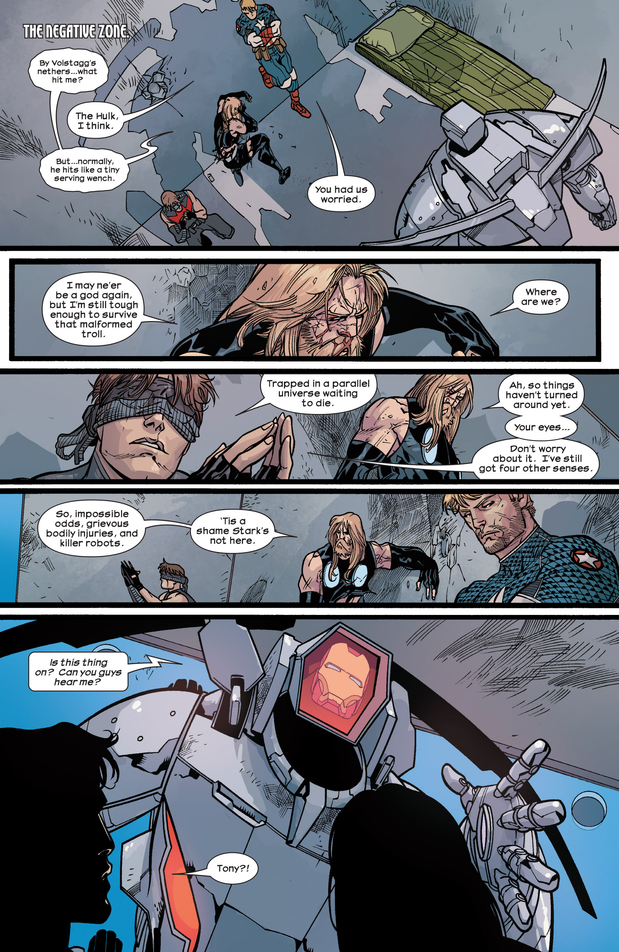 Read online Ultimate Comics Ultimates comic -  Issue #28 - 18