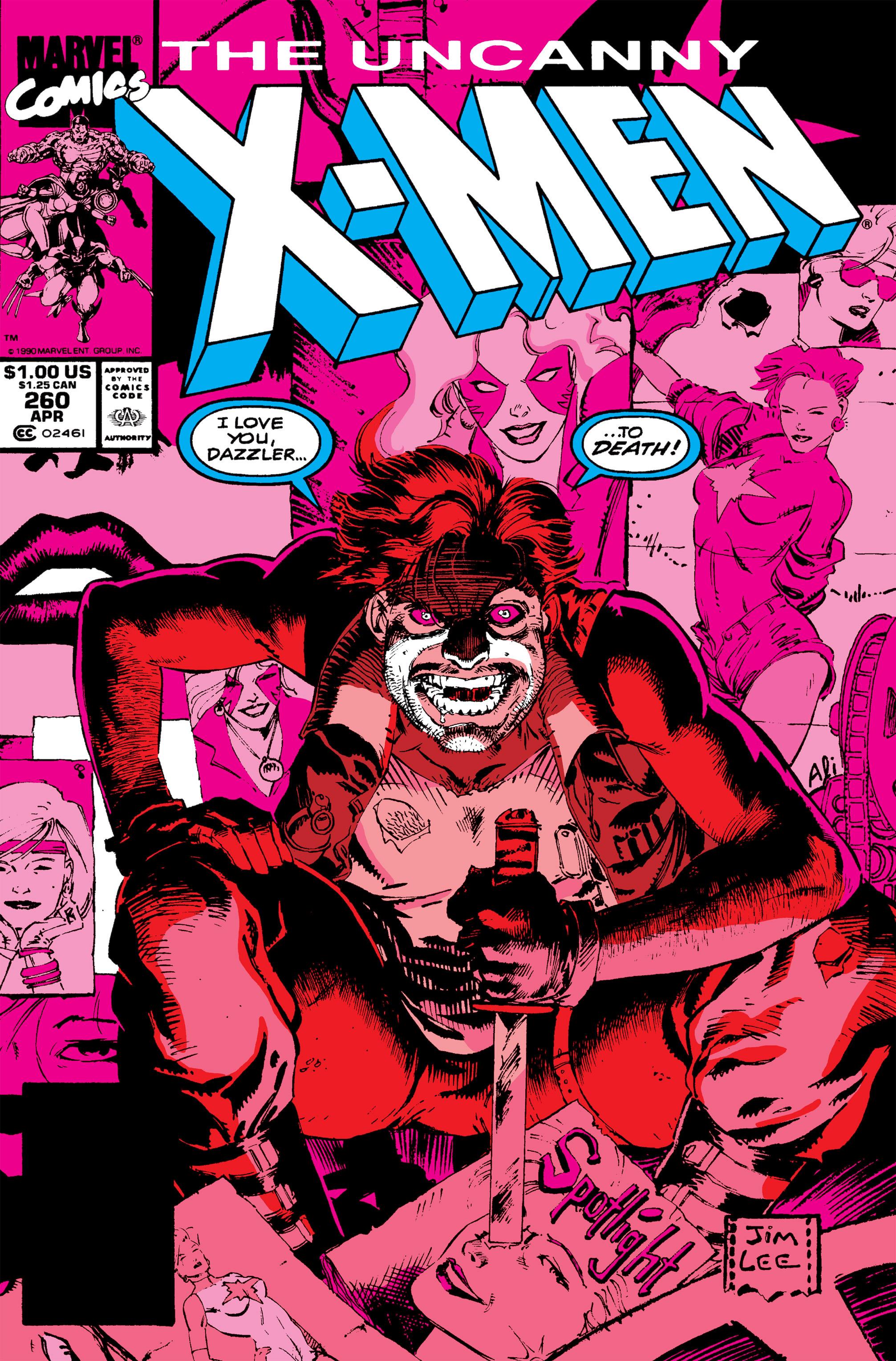 Uncanny X-Men (1963) 260 Page 1