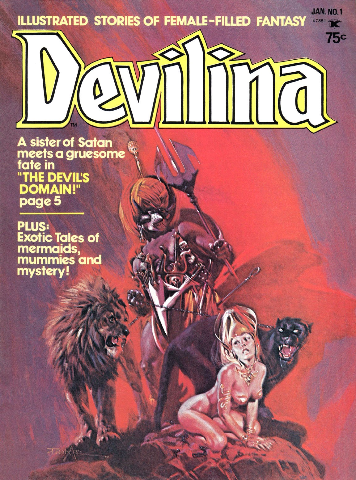 Devilina issue 1 - Page 1