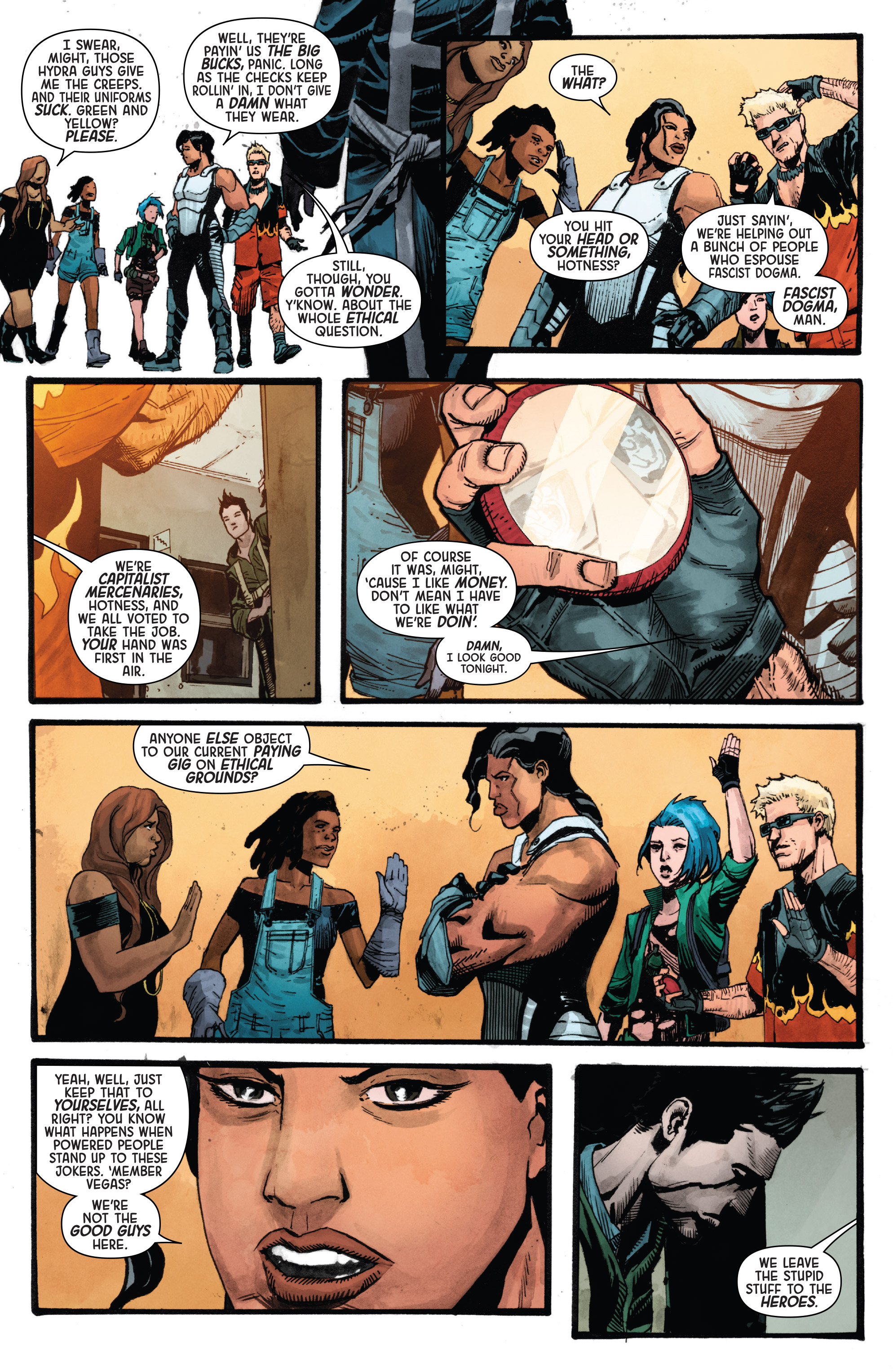 Read online Secret Empire: Uprising comic -  Issue # Full - 21