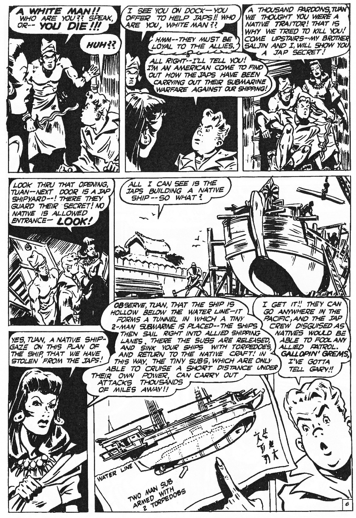 Read online Men of Mystery Comics comic -  Issue #81 - 182