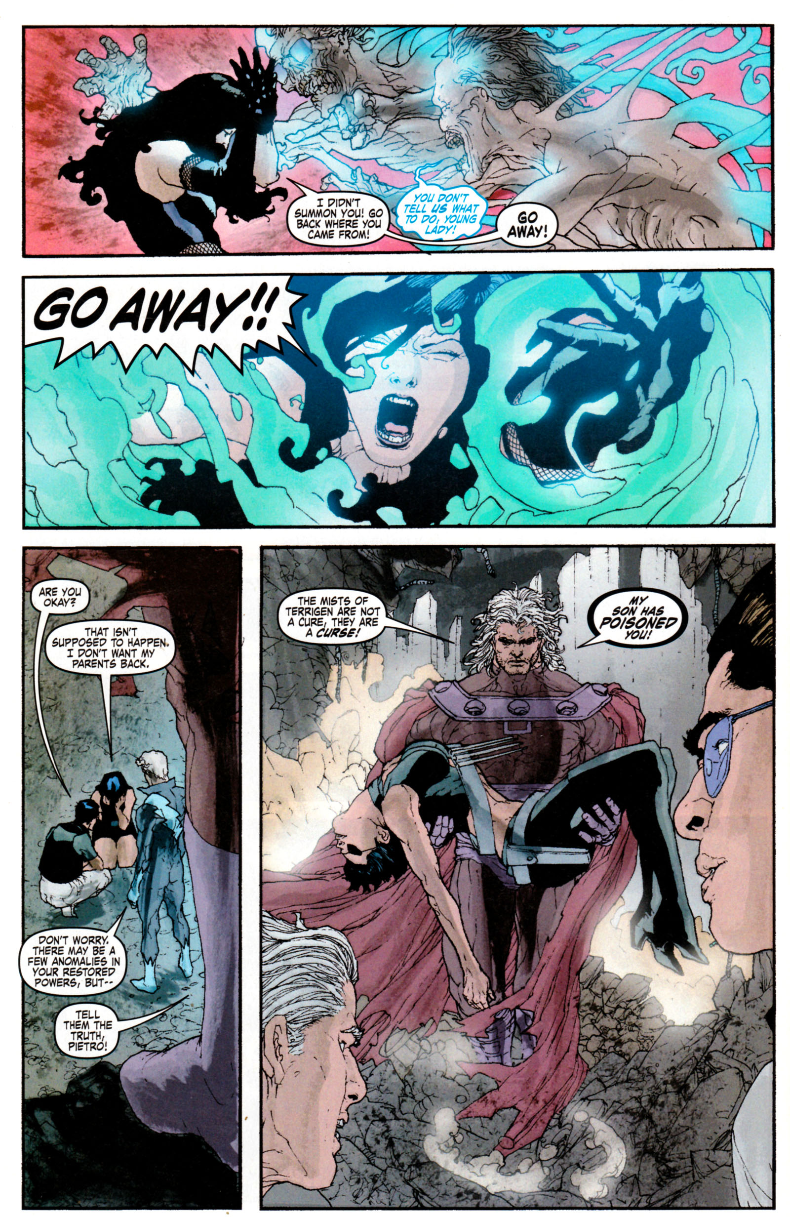 Read online Son of M comic -  Issue #5 - 10