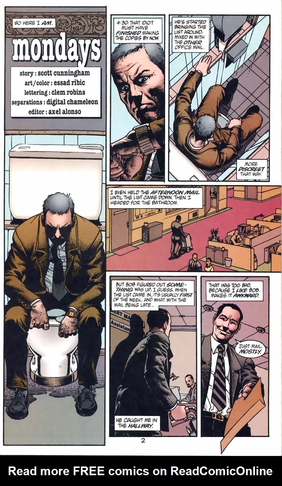 Read online Flinch comic -  Issue #12 - 20