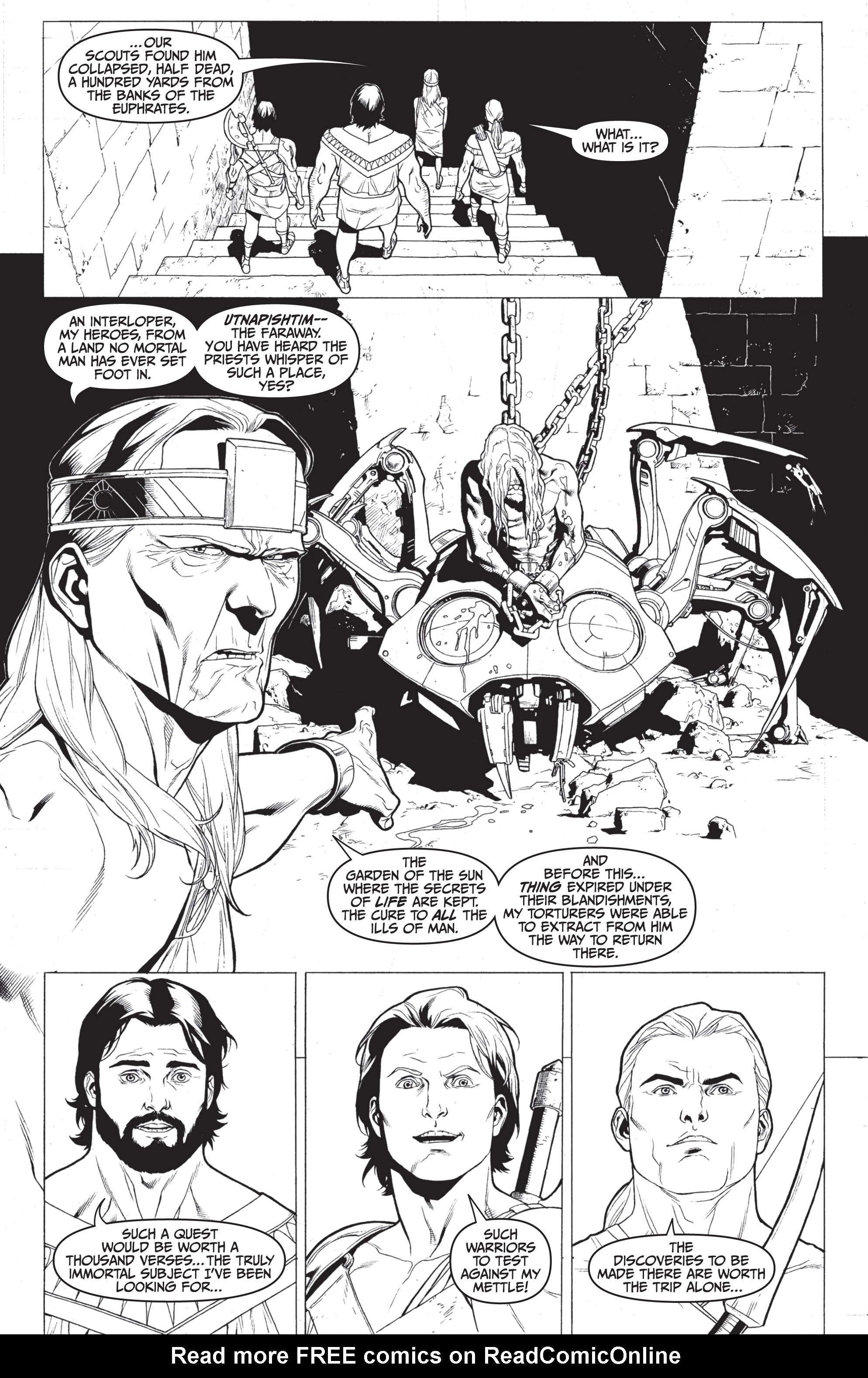 Read online Archer and Armstrong comic -  Issue #Archer and Armstrong _TPB 7 - 81