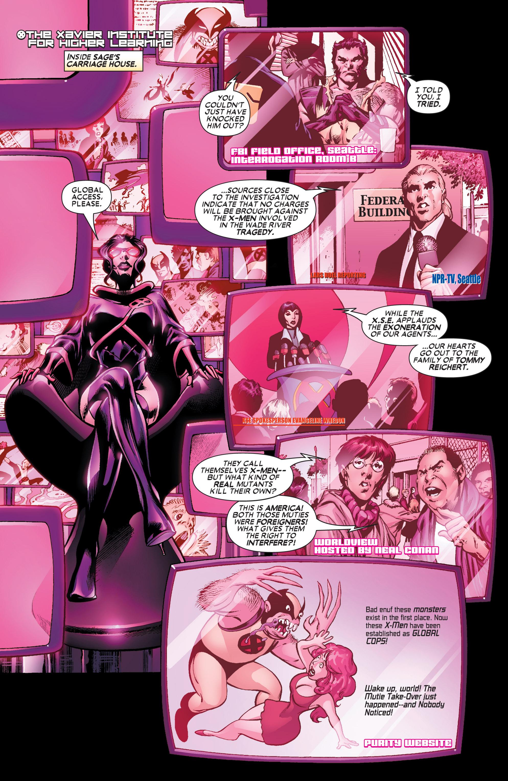 Read online Uncanny X-Men (1963) comic -  Issue #445 - 12
