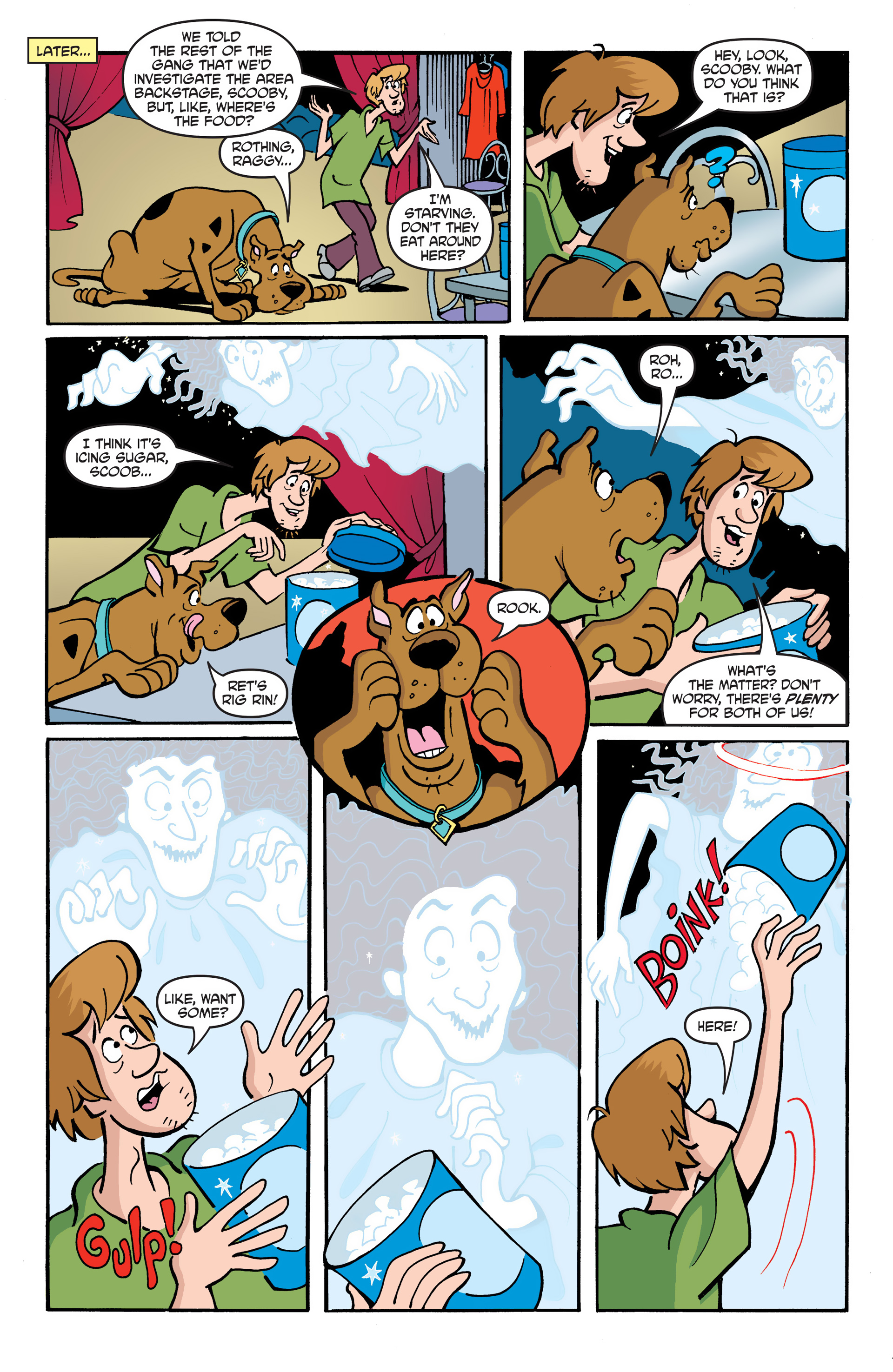 Read online Scooby-Doo: Where Are You? comic -  Issue #51 - 17