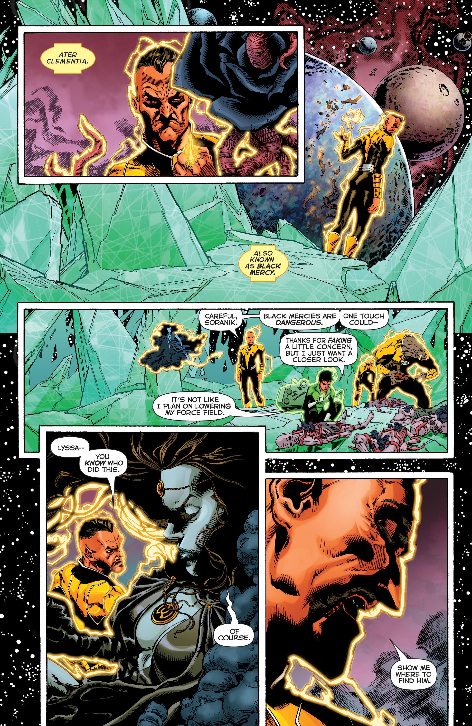Read online Sinestro comic -  Issue #9 - 10