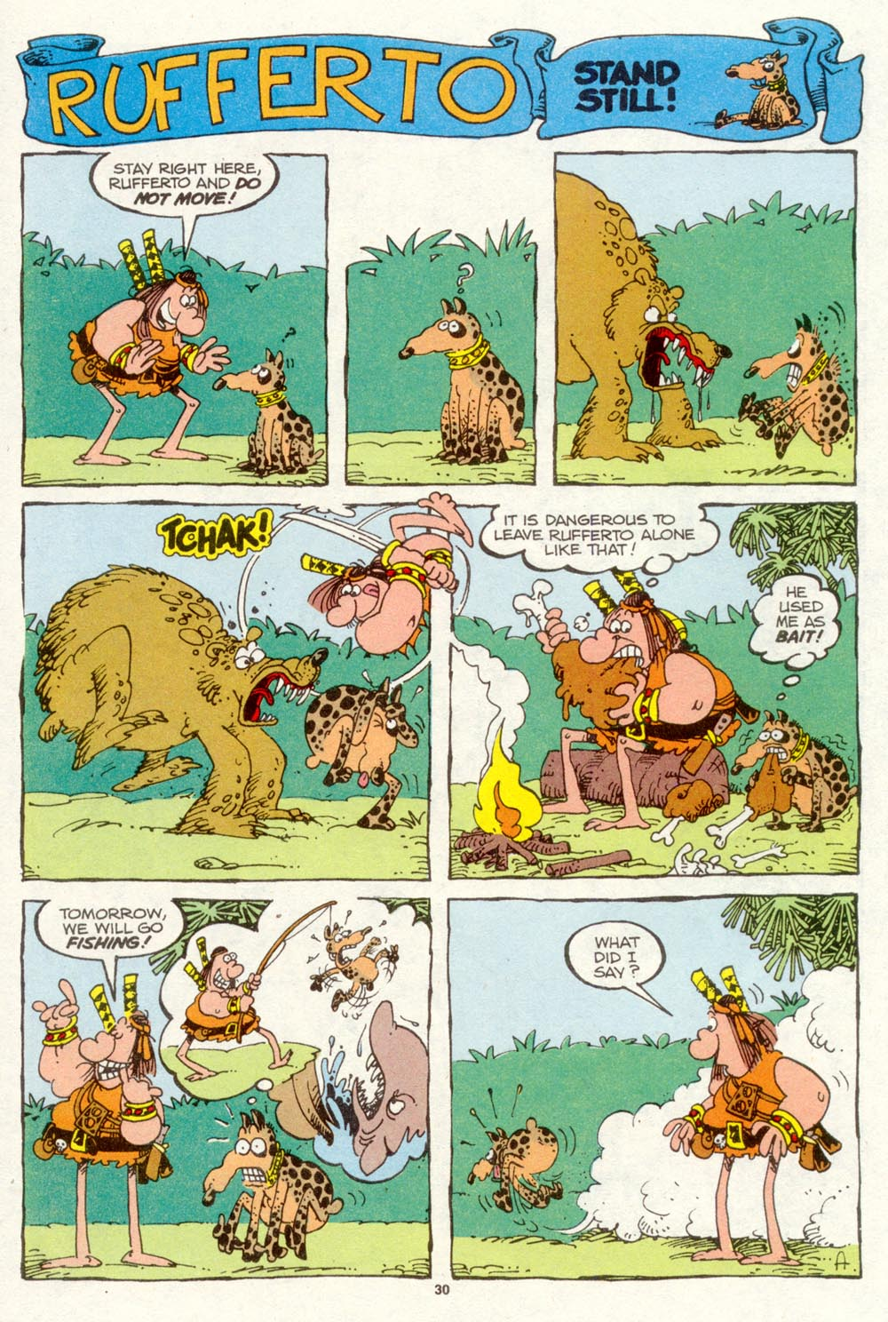 Read online Sergio Aragonés Groo the Wanderer comic -  Issue #93 - 31