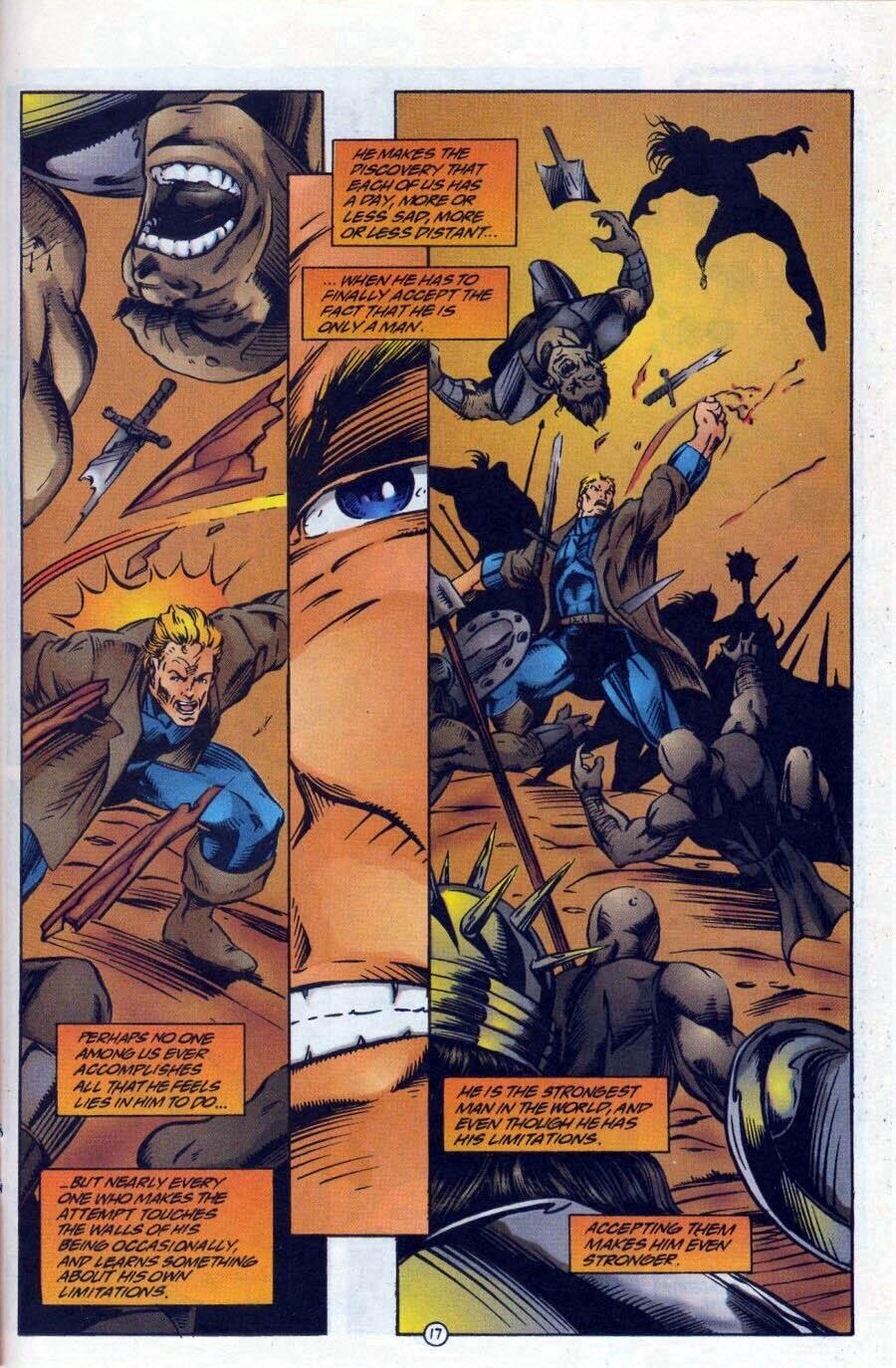 Read online Ex-Mutants comic -  Issue #17 - 18
