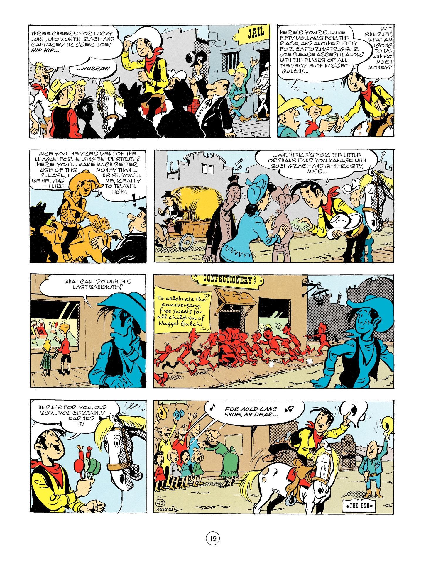 Read online A Lucky Luke Adventure comic -  Issue #56 - 19