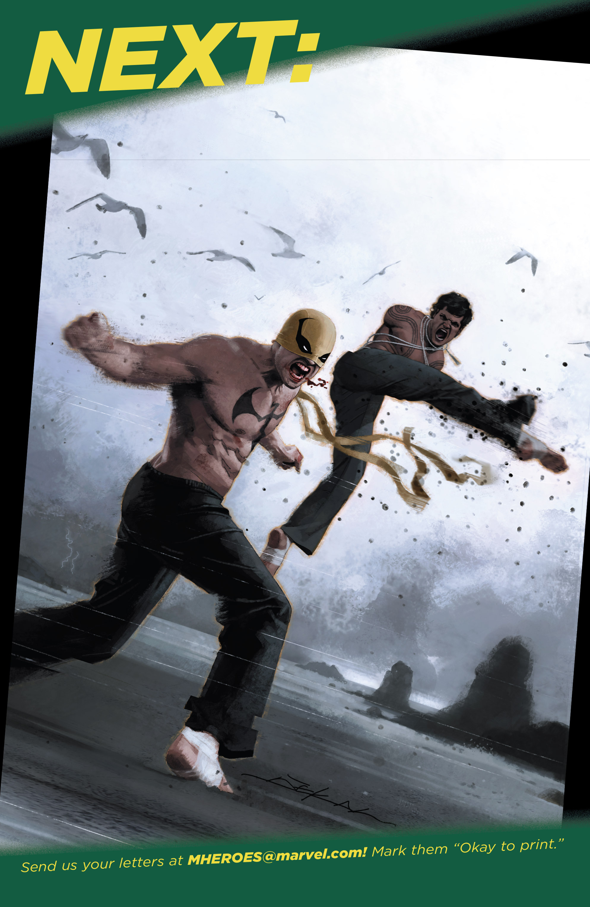 Read online Iron Fist (2017) comic -  Issue #2 - 23