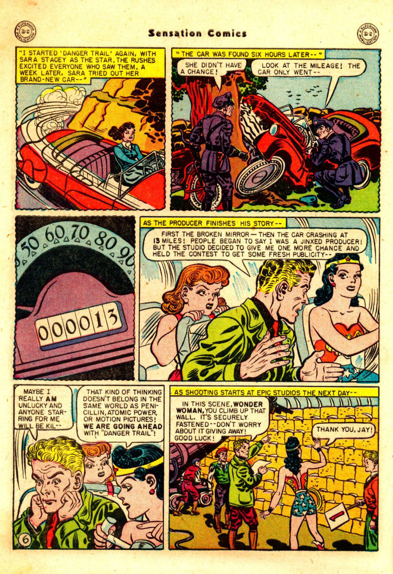 Read online Sensation (Mystery) Comics comic -  Issue #88 - 7